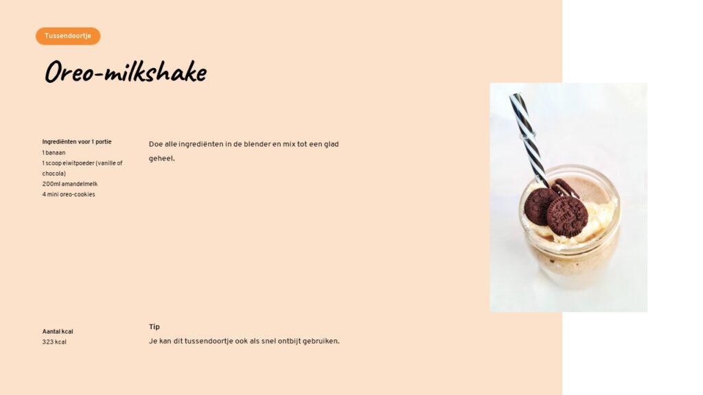 Lizzybox Oreo-milkshake
